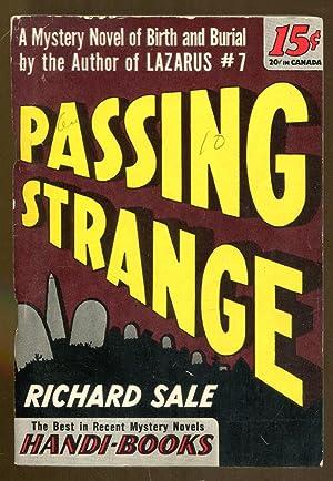 Passing Strange: Sale, Richard