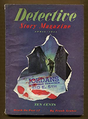 Detective Story Magazine, April 1941: Gruber, Frank & Others