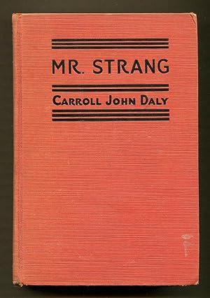 Mr. Strang: Daly, Carroll John