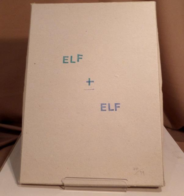 ELF + ELF. Scherenschnitt Sie. Stempeltext Er.: Portenlänger, Li und