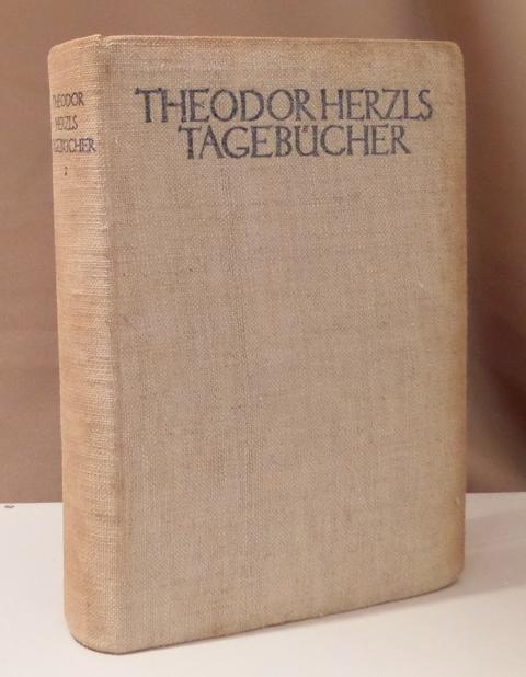 Tagebücher. Zweiter Band (von 3).: Herzl, Theodor.