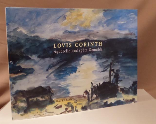 1858-1925) Aquarelle, Gemälde, Pastelle, Zeichnungen. 8. September: Corinth, Lovis.
