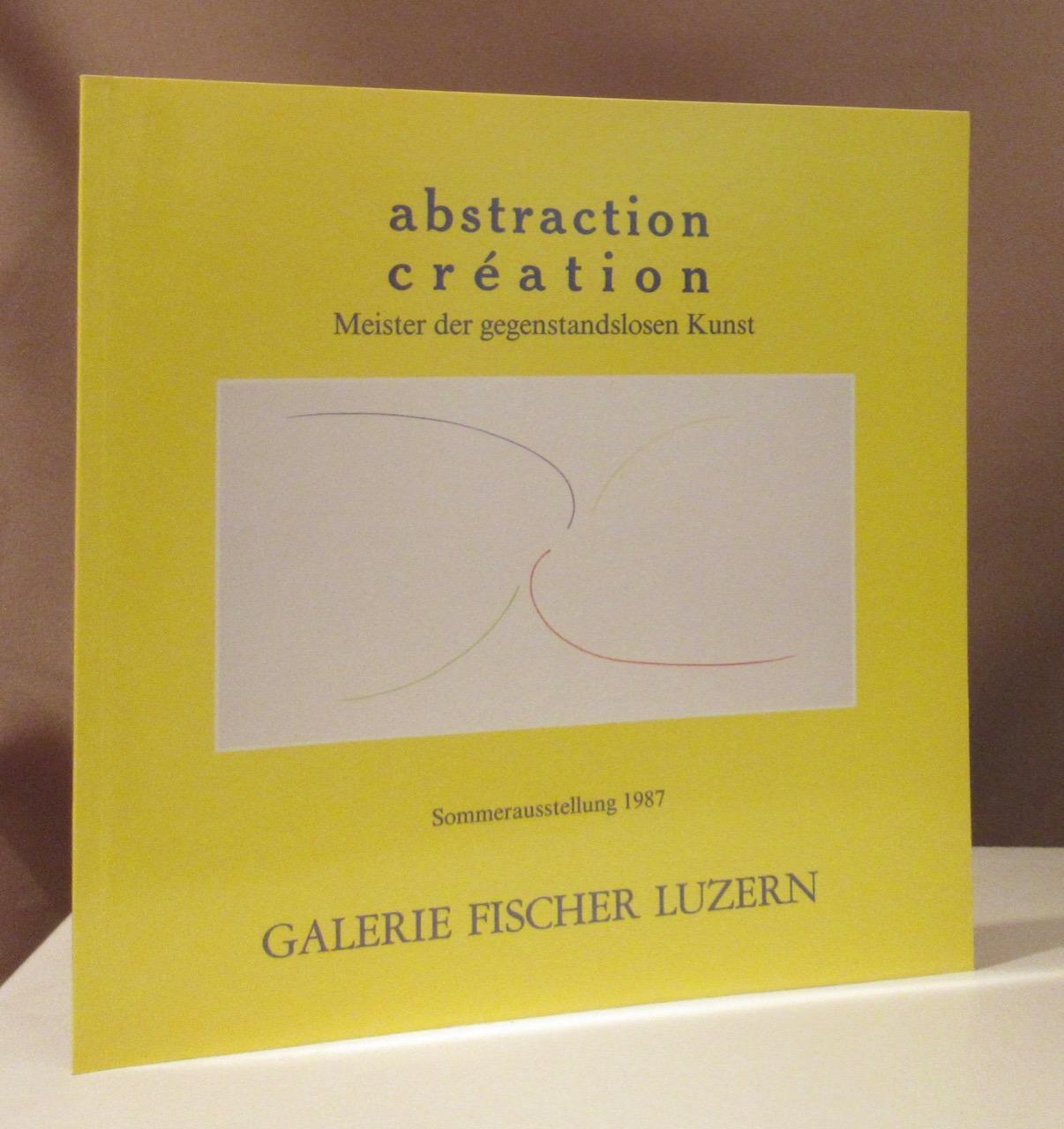 abstraction création. Meister der gegenstandslosen Kunst. Sommerausstellung