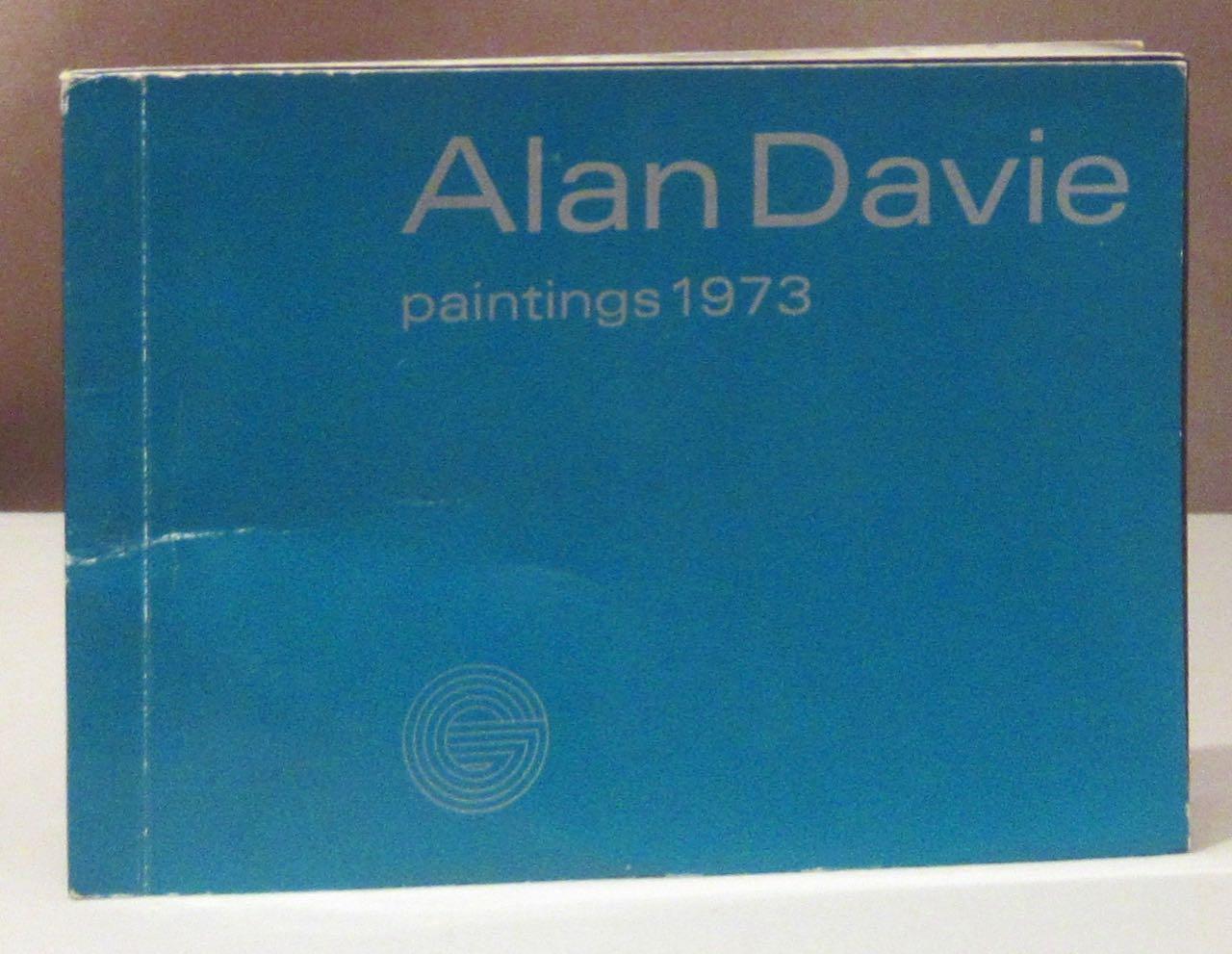 Paintings 1973. Gimpel Fils Galerie, London, 5.: Davie, Alan.