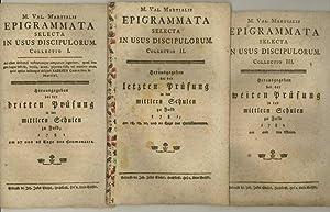 M. Val. Martialis Epigrammata. Selecta in usus: Martial, Marcus Valerius.