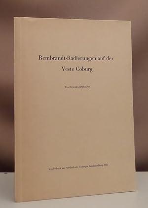 Rembrandt-Radierungen auf der Veste Coburg. Sonderdruck aus: Rembrandt - Kohlhaußen,