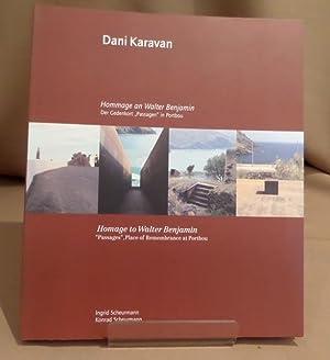 Dani Karavan - Hommage an Walter Benjamin.: Karavan, Dani -