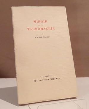 Miroir de la tauromachie. Illustrations d'André Masson.: Leiris, Michel.