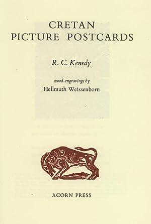 Cretan picture postcards. Wood-engravings by Hellmuth Weissenborn.: Weissenborn, Hellmuth -