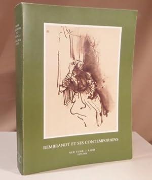 Rembrandt et ses contemporains. Dessins hollandais due