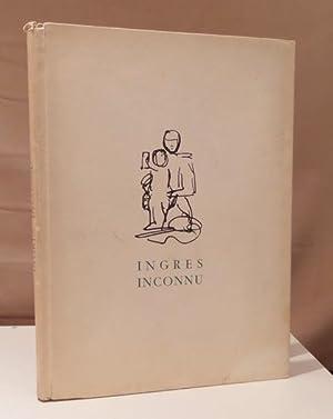 Ingres inconnu. 129 reproductions de croquis à: Ingres, Jean-Auguste-Dominique -