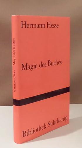 Magie des Buches. Betrachtungen.: Hesse, Hermann.
