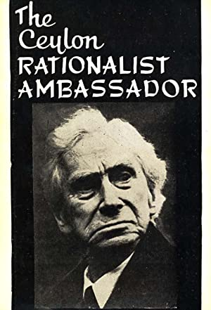 The Ceylon Rationalist Ambassador. 1970.: Ceylon - Sri