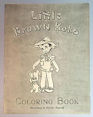 Little Brown Koko Coloring Book
