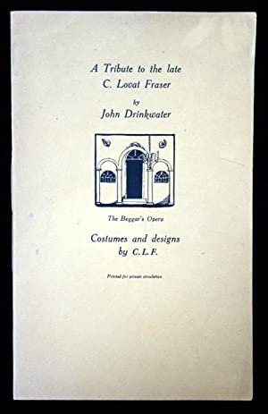A Tribute to the late C. Lovat Fraser by John Drinkwater Prospectus