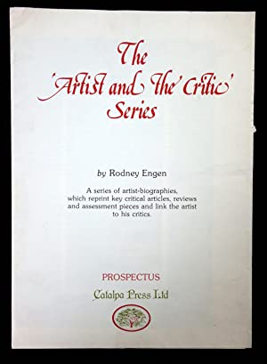 The 'Artist and the Critic' Series Plan and Description Prospectus