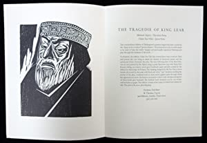 The Tragedie of King Lear New Book Announcement
