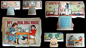 My Real Doll House, with Cut-Out and Stand-Up Illustrations and Colored Lithograph