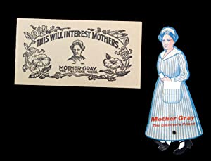 Mother Gray's Sweet Powders for Children, Advertising Booklet and Paper Doll