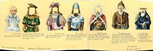 Shakespeare's 7 Ages of Man Advertising Paper Dolls - Kirkman's Borax Soap