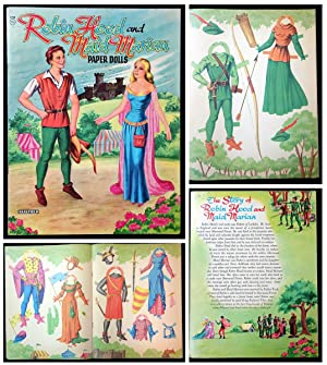 Robin Hood and Maid Marian Paper Dolls