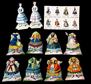 Female National Costumes of Europe Paper Dolls
