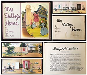 My Dolly's Home (a paper doll house with characters)