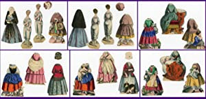 Scarce - The Virtuous Girl with 2 Two-Sided Paper Dolls and 8 Costumes