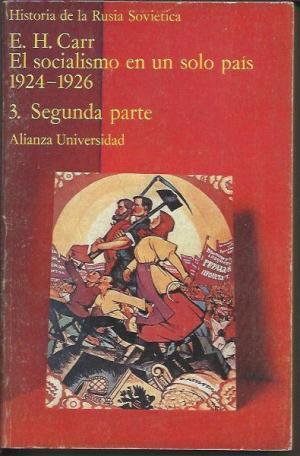 Historia de la Rusia sovietica. el socialismo: E Carr