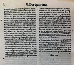 ARISTOTELIS STAGIRITE PERIPATETICORUM PRINCI-//PIS DE PHYSICO AUDITU: Aristotel