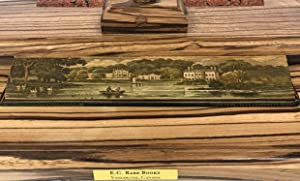 THE FALL OF JERUSALEM: A DRAMATIC POEM FORE-EDGE PAINTING.