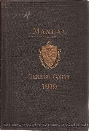 A Manual For The Use of the: Coolidge, Henry D.
