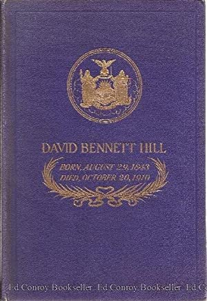 David Bennett Hill: State Of New York Executive Chamber