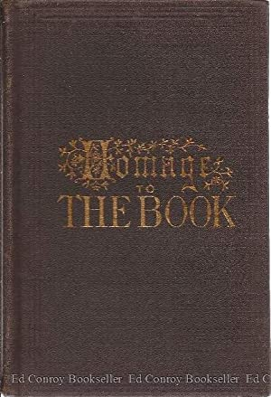 """Homage of Eminent Persons To The Book. """"There is but one book--The Bible"""": Bailey, Samuel W..."""