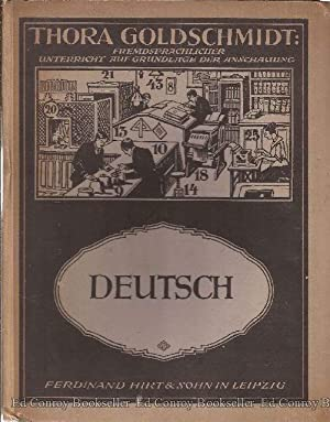 Bildertafeln fur den Unterricht im Deutschen: Goldschmidt, Thor