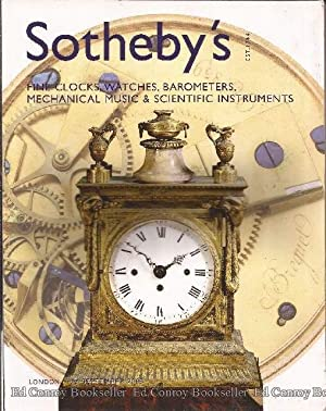 Fine Clocks, Watches, Barometers, Mechanical Music &: Sotheby's