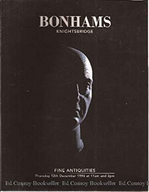 Fine Antiquities Bonhams Knightsbridge Sale Number 27,208: Bonhams