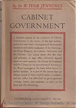 Cabinet Government: Jennings, Sir Ivor