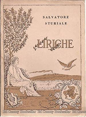 Liriche: Sturiale, Salvatore *Author SIGNED/INSCRIBED!*