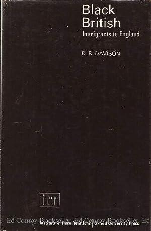 Black British Immigrants To England: Davison, R. B.