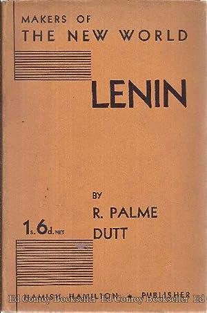 LENIN: Dutt, R. Palme