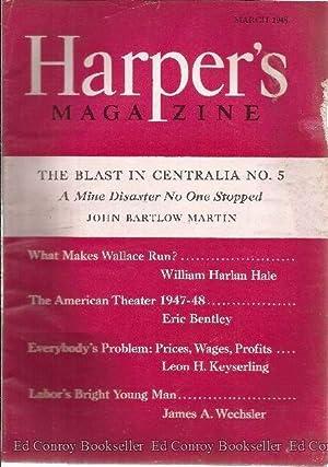 Harper's Magazine January 1948: Hartman, Lee F., Editor