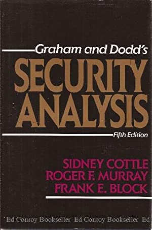 Graham and Dodd's Security Analysis: Cottle, Sidney with