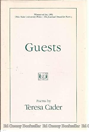 Guests: Cader, Teresa *Author by SIGNED/INSCRIBED!*