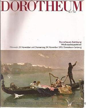 Dorotheum Weihnachtsauktion Mittwoch, 23, November und Donnerstag, 24 November 2005: Author Unknown