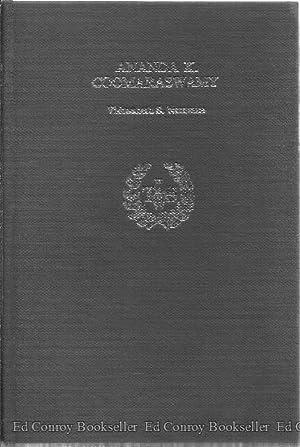 Ananda K. Coomaraswamy: Naravane, Vishwanath S.