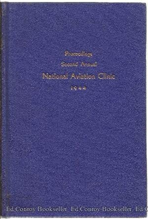 Preoceedings The Second National Clinic For Domestic Aviation Planning: Thompson, Horace