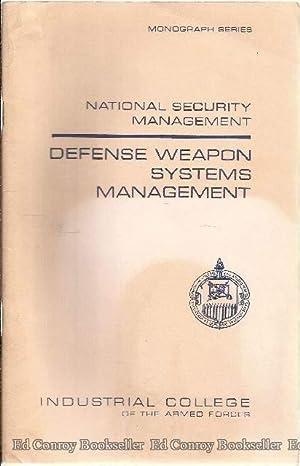 Defense Weapon Systems Management: Strohlein, John