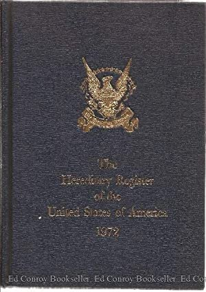 The Hereditary Register of the United States of America 1972: Johnson, Charles Owen, Editor