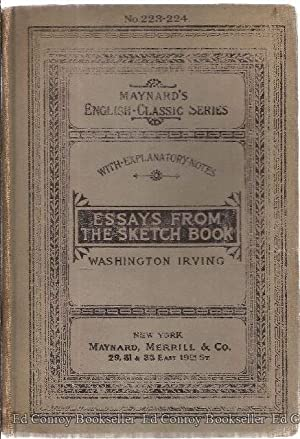 Essays From The Sketch-Book: Irving, Washington